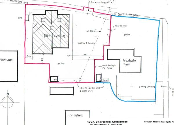 Building Plot Woodgate Farm