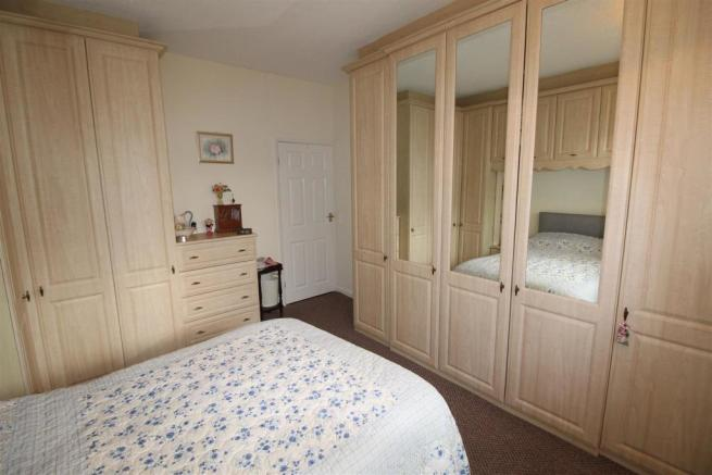 BEDROOM 1 - VIEW SHOWING WARDROBES