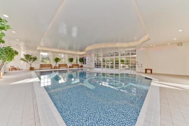 residents' communal swimming pool