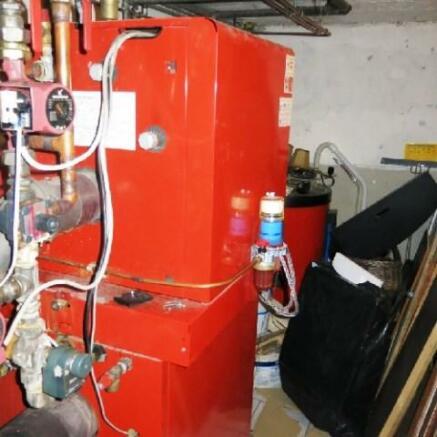 Dual fuel heating