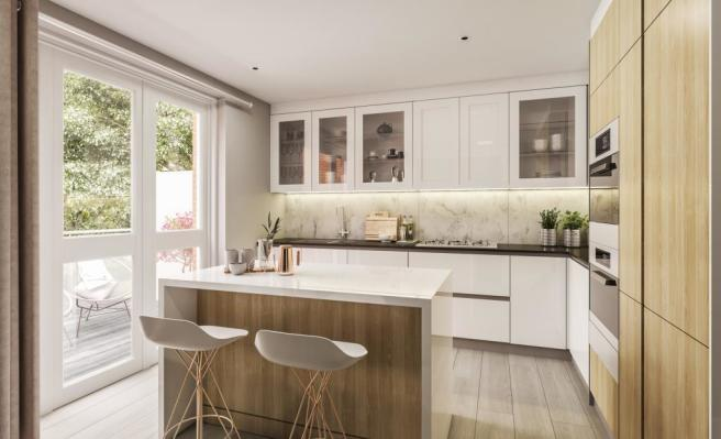 Two Bedroom Apartments - Kitchen