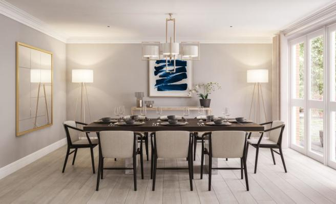 Two Bedroom Apartments - Dining Room
