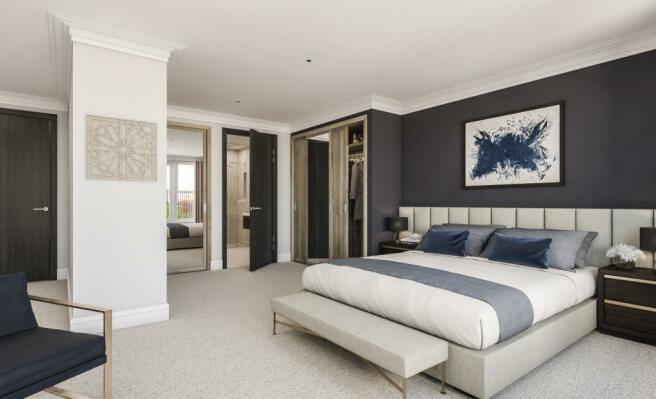 Two Bedroom Apartments - Bedroom