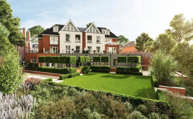 Two Bedroom Apartments - Garden View