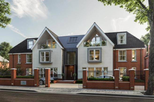 Three Bedroom Apartments - Front External View