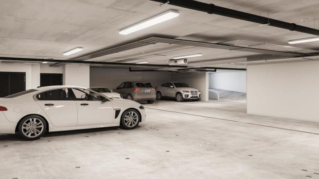 Three Bedroom Apartments - Car Park