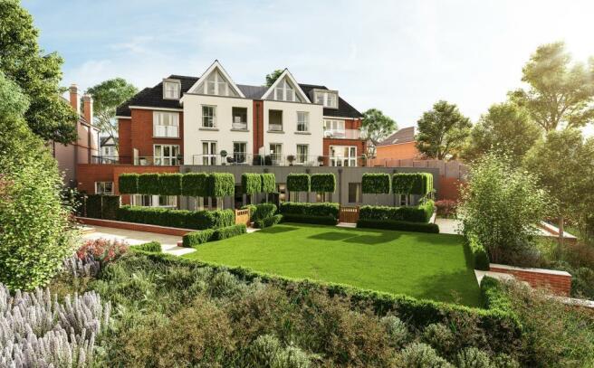 Three Bedroom Apartments - Garden View