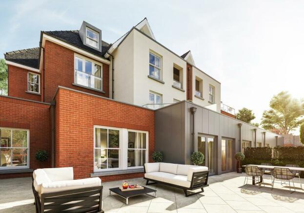Three Bedroom Apartments - Terrace