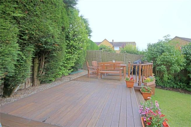 Wood Decking Area