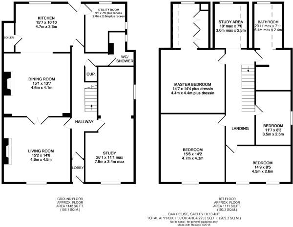 Oak House Plan