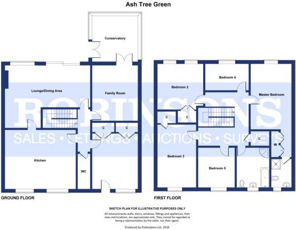 Ash Tree Green - Floorplan