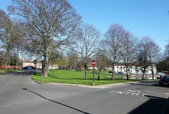 Front Aspect onto Norton Green