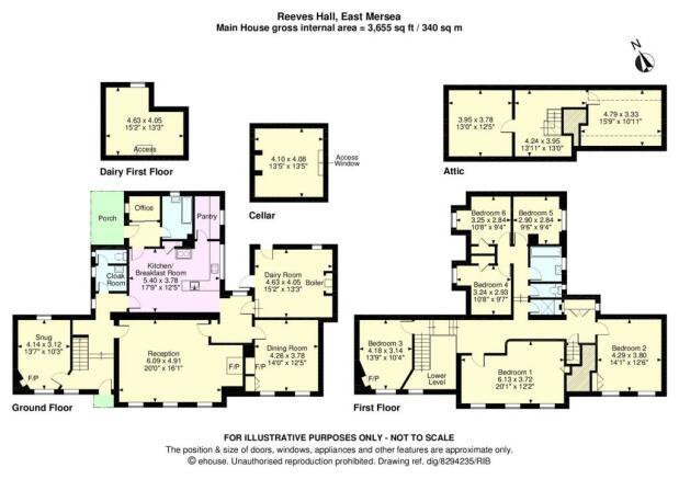Hall Floorplan