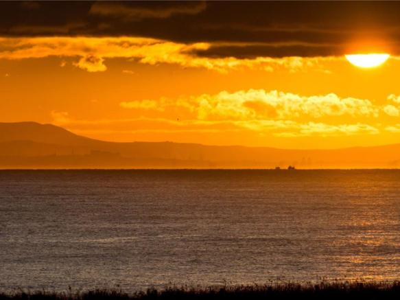 Sunset Over Firth