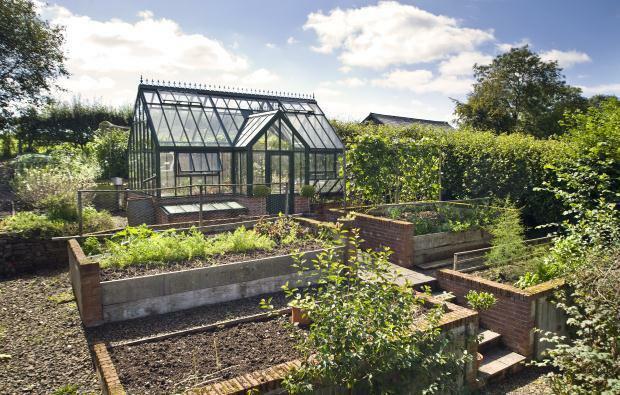 Greenhouse, Veg Beds