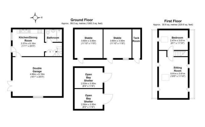 Studio/Outbuildings