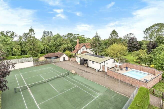 Tennis Court & Pool