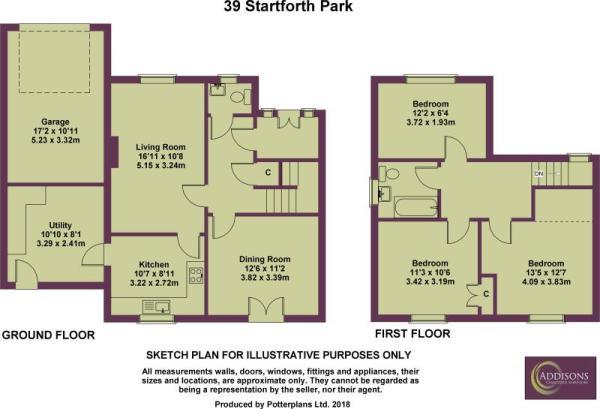 39 Startforth Park Plan