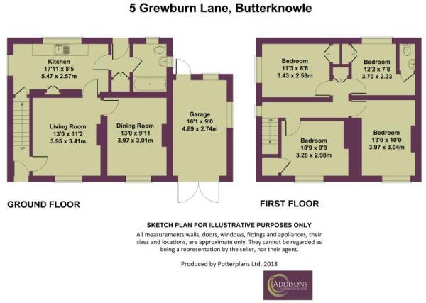 5 Grewburn Lane, Butterknowle