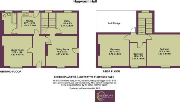 Hagworm Hall Plan