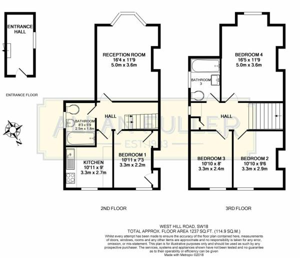 Floor Plan West Hill Road, SW18.JPG