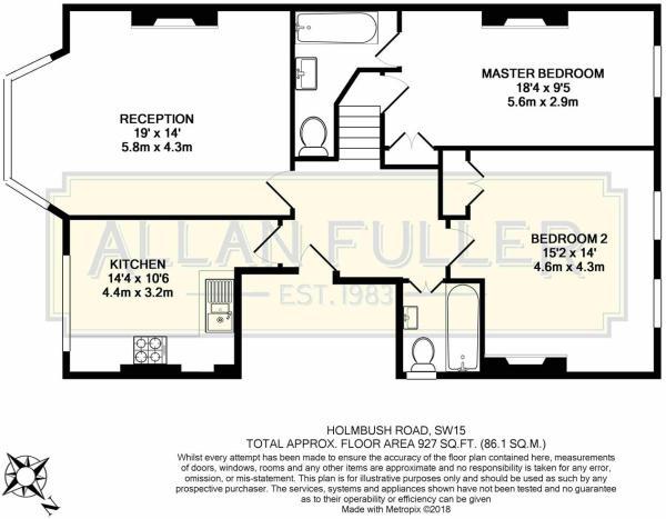 Floor Plan Holmbush Road, SW15.JPG