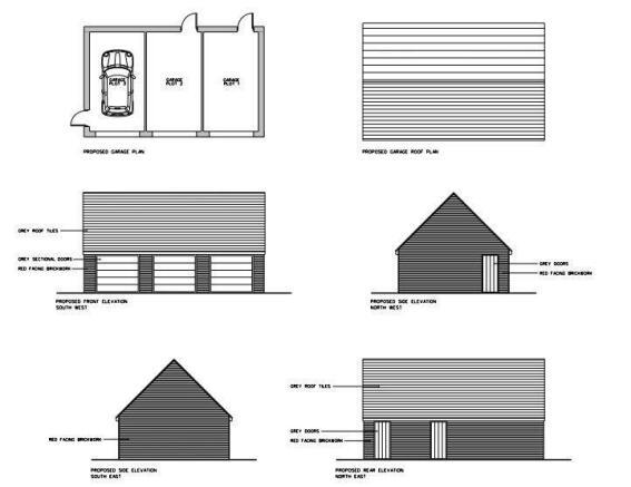 Proposed Garage Drawings