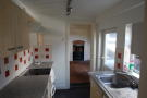kitchen to dining...
