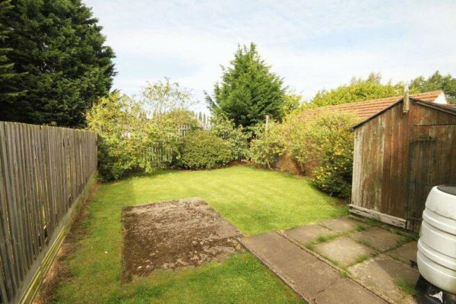 Rear Garden grass