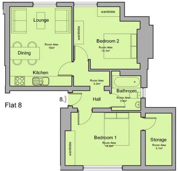 Flat 8 29 Bargate