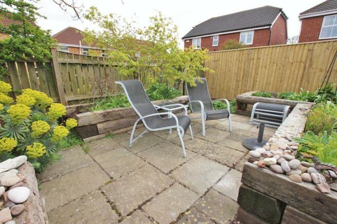 Second patio area