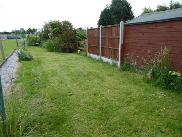 Great sized rear garden