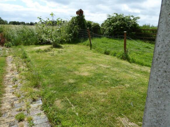 Top garden section