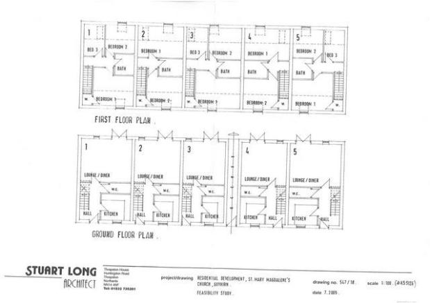 Proposed Floor Plans - 5 Dwell