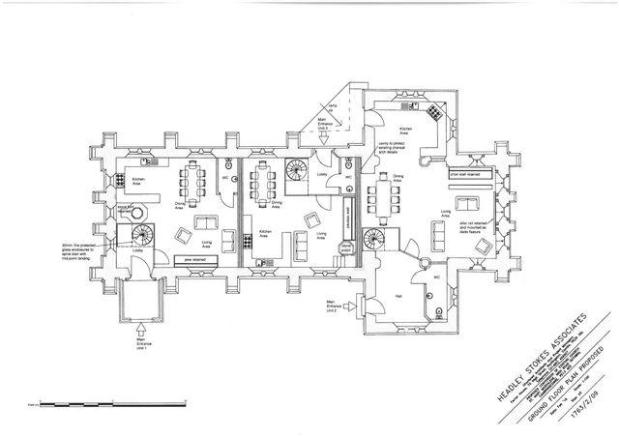 Ground Floor Plan - Proposed