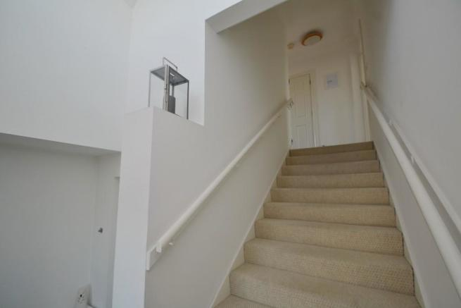 Stairs to flat
