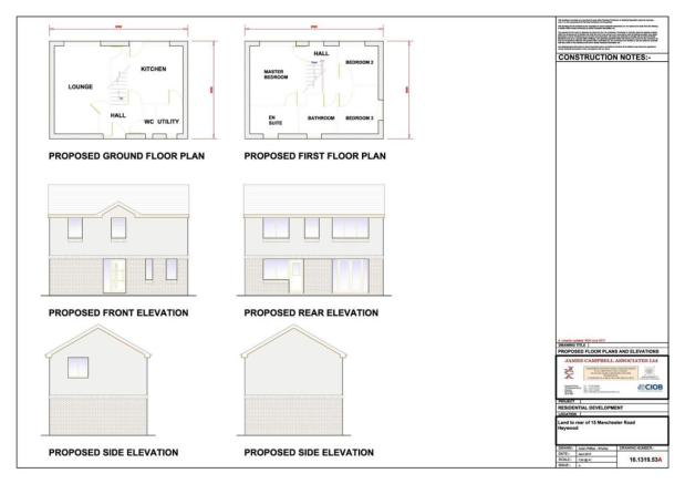 Proposed Floor Plans & Elevations