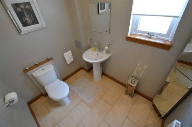 downstairs wc 4 bedroom detached house for sale in gateside view lesmahagow ml11