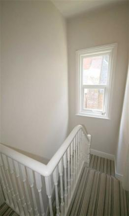 Stairs To First Floor Landing: