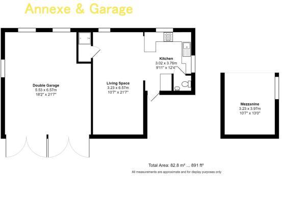 Annexe & Garage