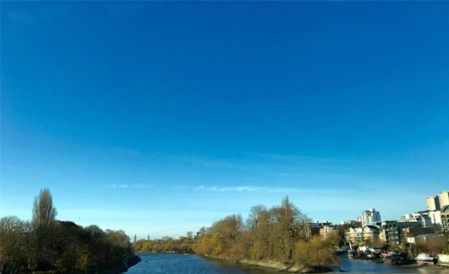 View From Kew Bridge