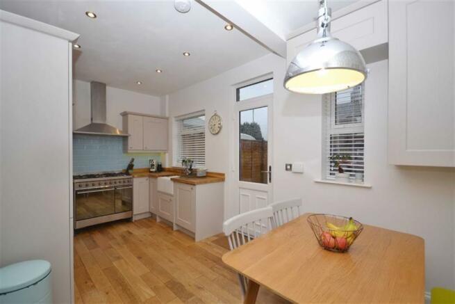 Dining kitchen view 3