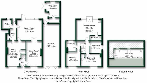 @Ashtree Lodge Rectory Corner Brandsby Floor Plan.
