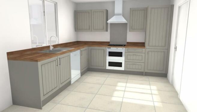 Plot 8 Kitchen Layout