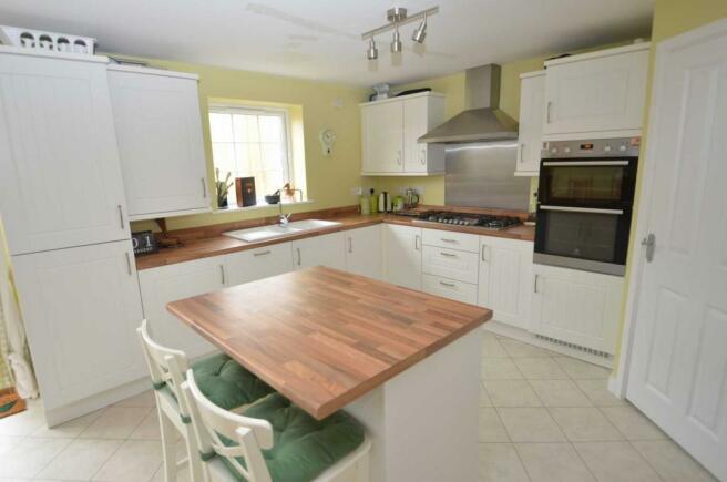 Kitchen/island unit