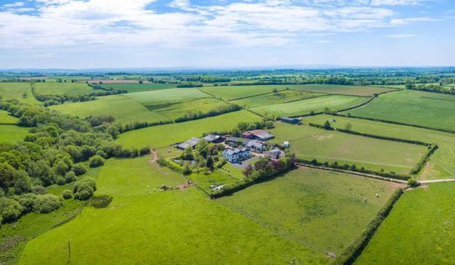 Property and surrounding countryside