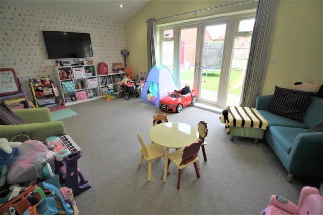 Extended Family Room