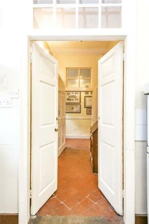 Doors To Kitchen