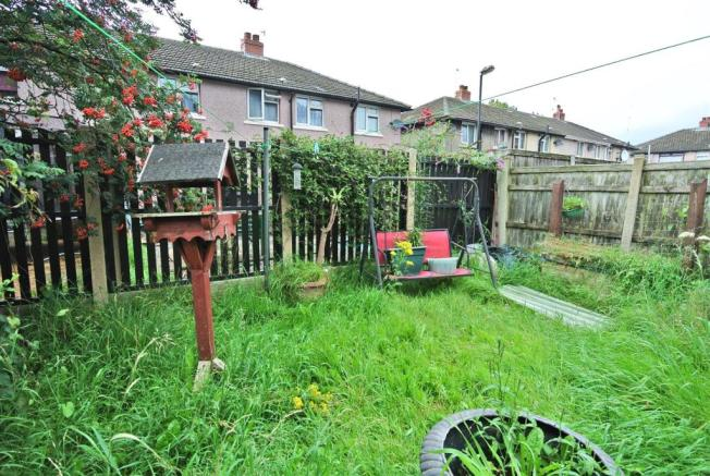 Lawned Garden to Rear