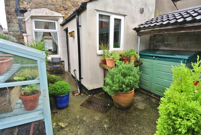 Enclosed Yard to the